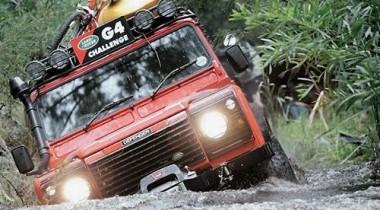 В Екатеринбурге состоялся региональный отборочный тур Land Rover G4 Challenge