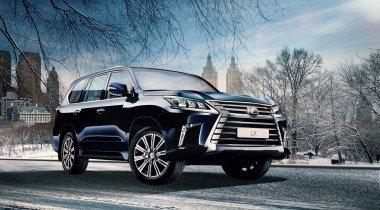 Lexus в декабре: скидки до 450 тысяч