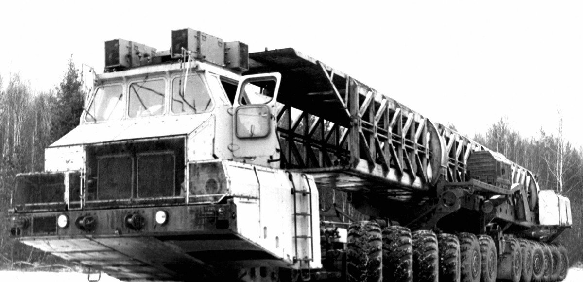 МАЗ-7907: гигант ядерного апокалипсиса