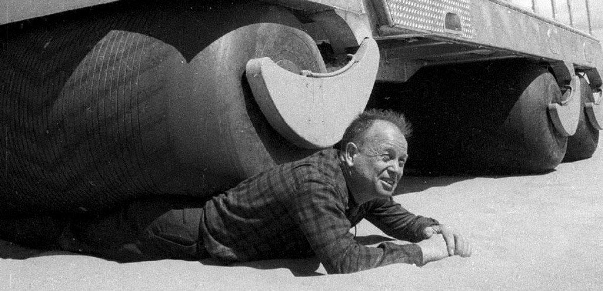 «Эскимосские ролики»: пневмоходы Билла Олби