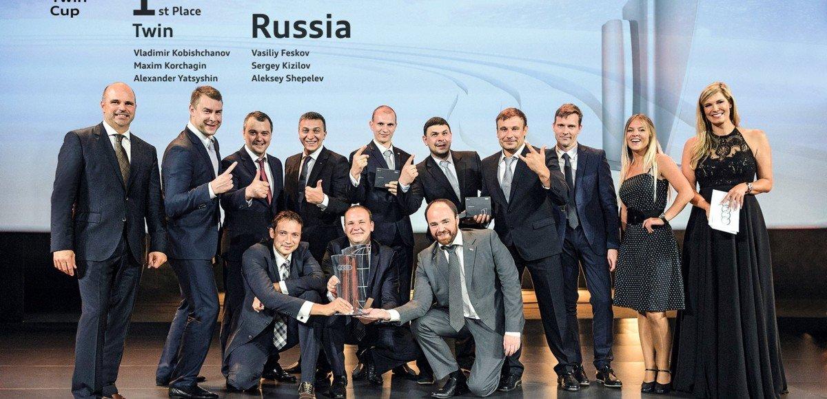 Россия выиграла Audi Twin Cup