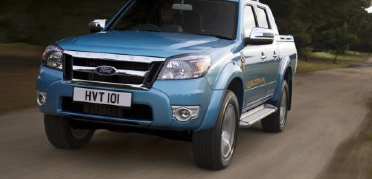 Ford представит в Женеве обновленный пикап Ranger