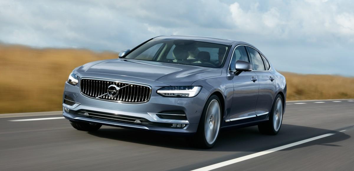 Volvo S90. На грани будущего