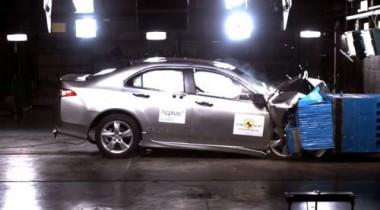 Новый Honda Accord получил высокие оценки в краш-тестах EuroNCAP