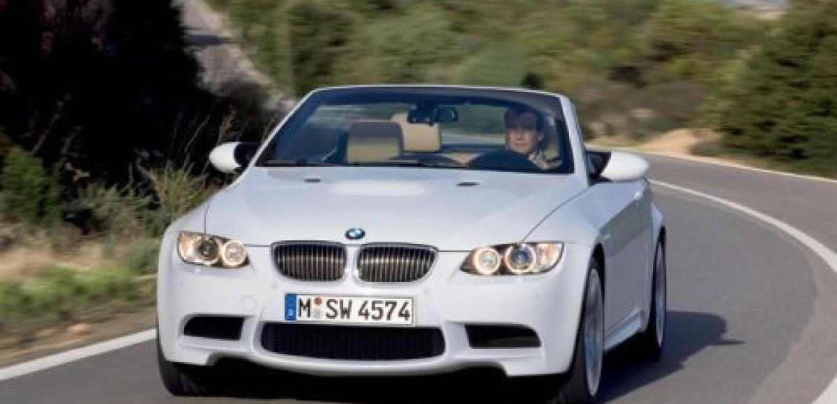 Новый кабриолет BMW M3