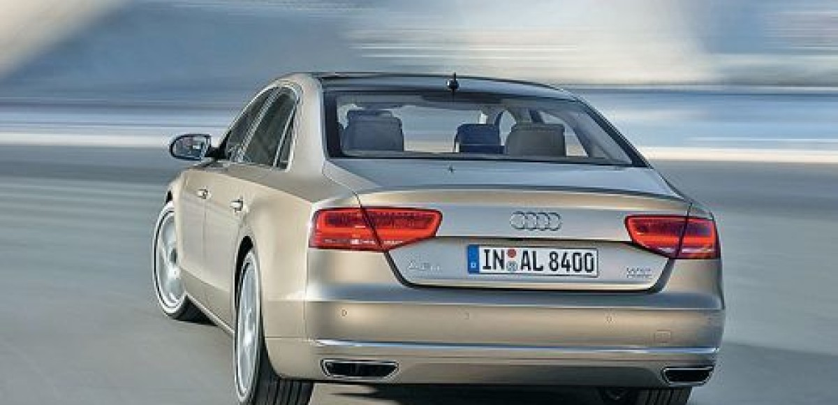 Объявлены российские цены на Audi A8 L