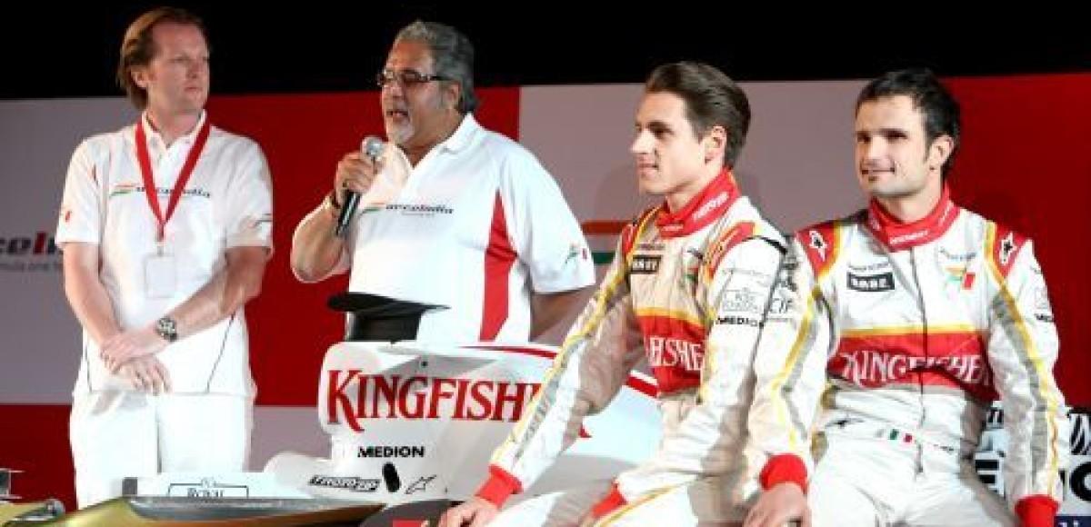 Force India будет воспитывать для себя пилотов