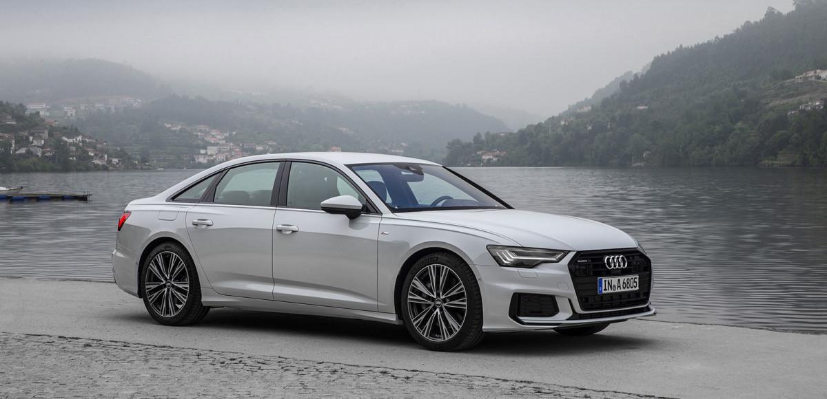 Audi A6. Step Down