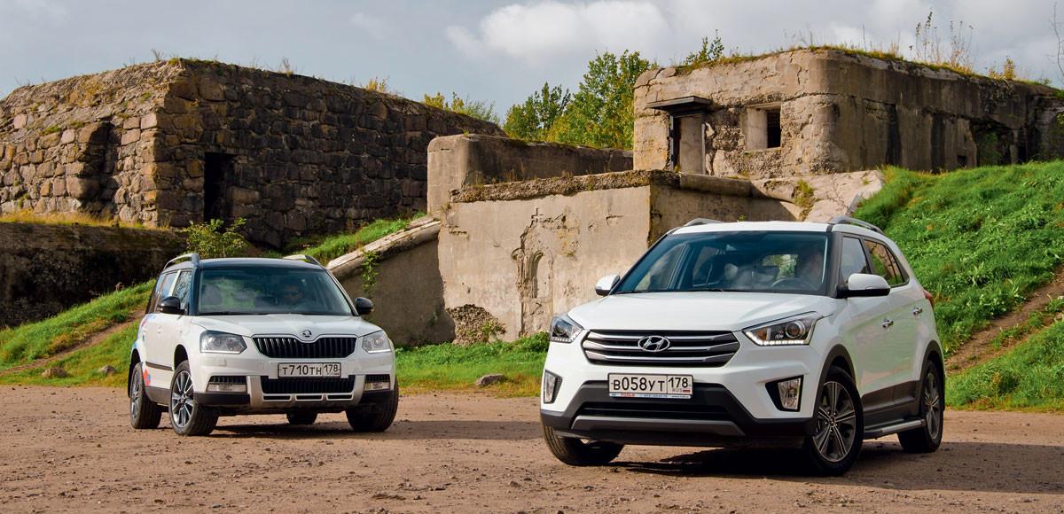 Hyundai Creta против Skoda Yeti. Корни