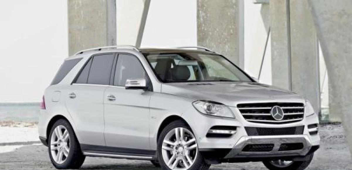 Mercedes-Benz M-class. Гормональный сдвиг