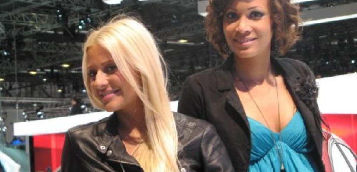 Девушки Женевского автосалона 2010