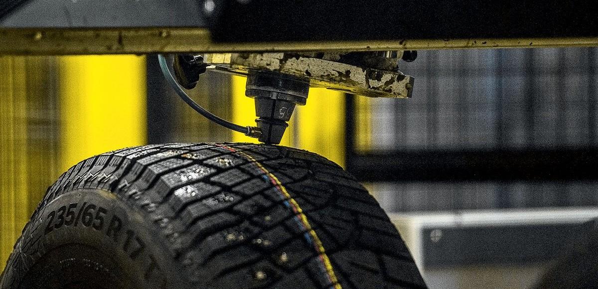 Как делают зимние шины