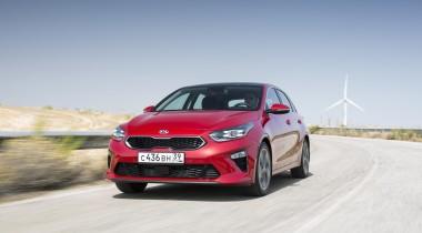 Объявлены рублёвые цены на новый Kia Ceed