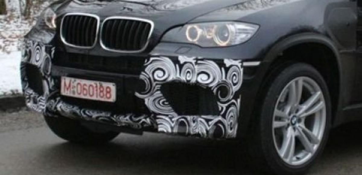 В Интернете появились шпионские фото BMW X5 M