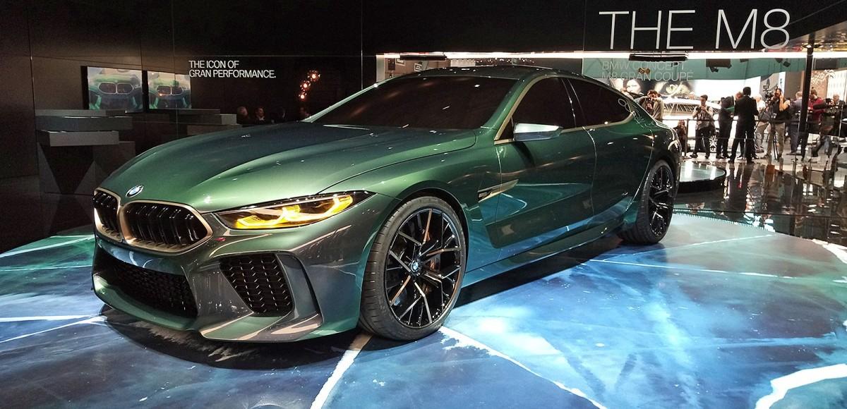 BMW Concept M8 Gran Coupe: за гранью роскоши