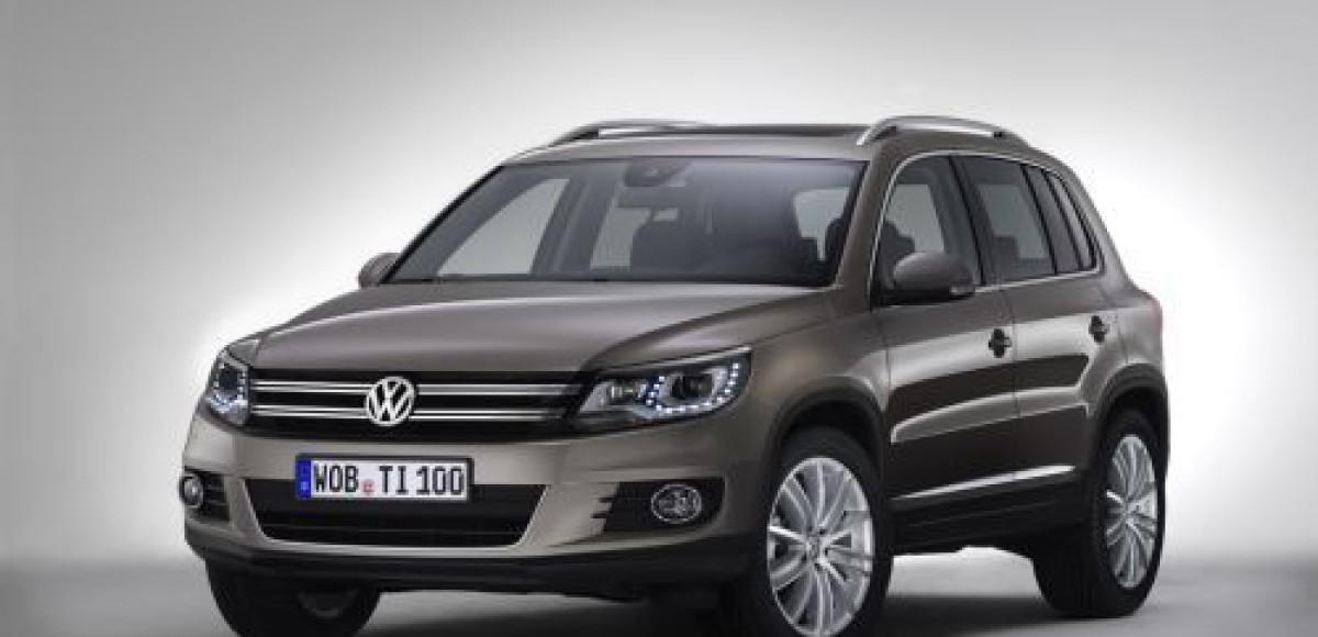 Обновленный Volkswagen Tiguan появится в России в июле