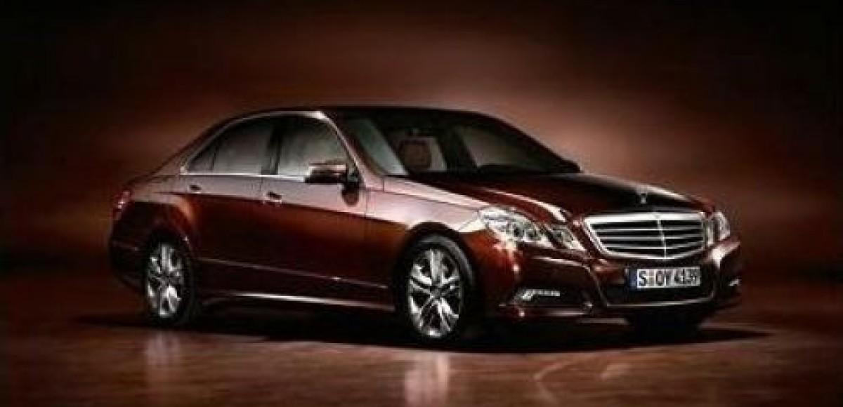 Mercedes представит новый E-class до Женевского автосалона