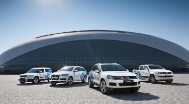 «ФОЛЬКСВАГЕН Груп Рус» передала Оргкомитету                «Сочи 2014» все автомобили, предназначенные для Игр в Сочи