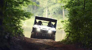 Новые мотовездеходы Yamaha Wolverine X2 и X4