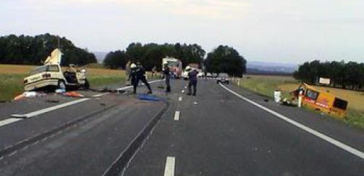 На Можайском шоссе столкнулись 4 автомобиля