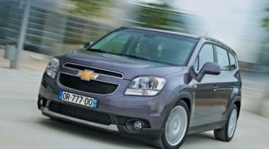 В октябре в России начнутся продажи минивэна Chevrolet Orlando