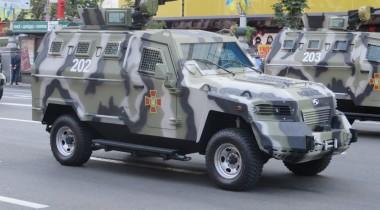 «Кугуар»: украинский броневик, созданный в Канаде