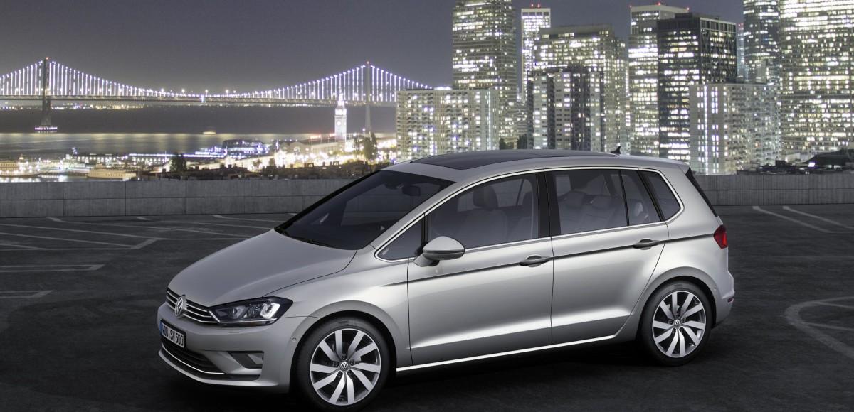 Volkswagen Golf Sportsvan может появиться в России