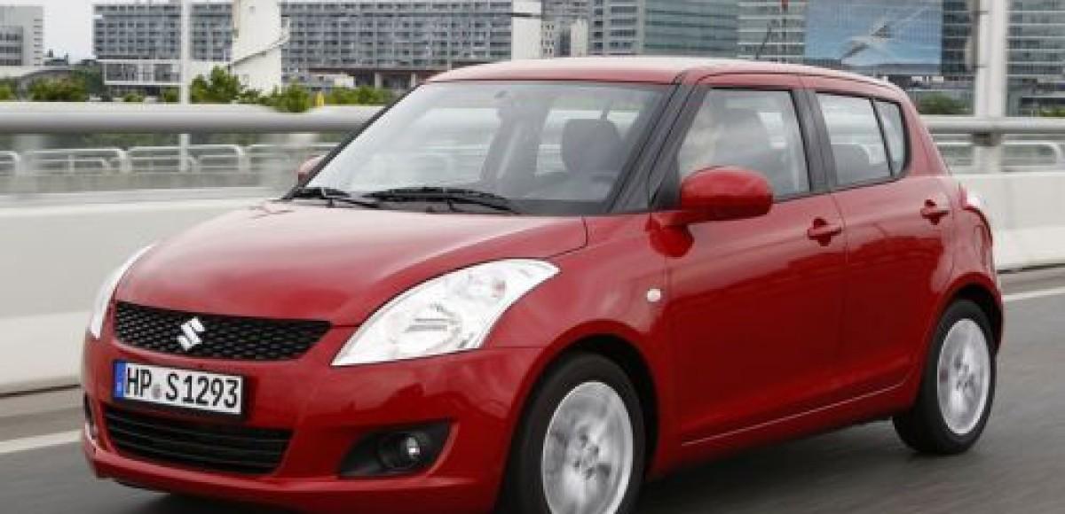 Suzuki приступает к продажам в России обновленного Swift