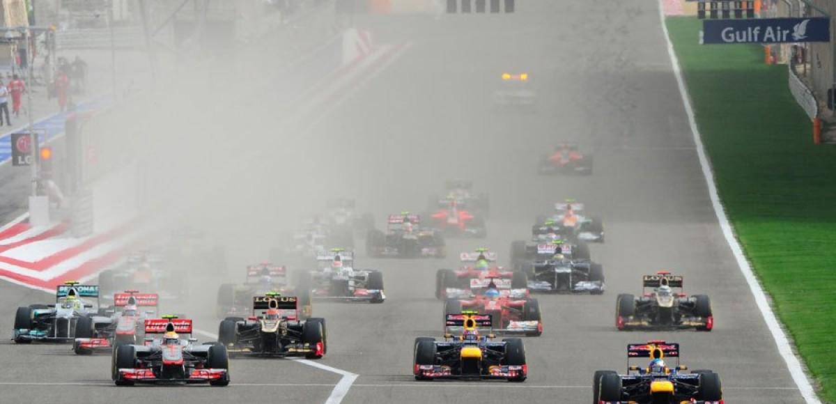 Гран-при Бахрейна .  Феттель и Грожан в восторге, Райконен разочарован