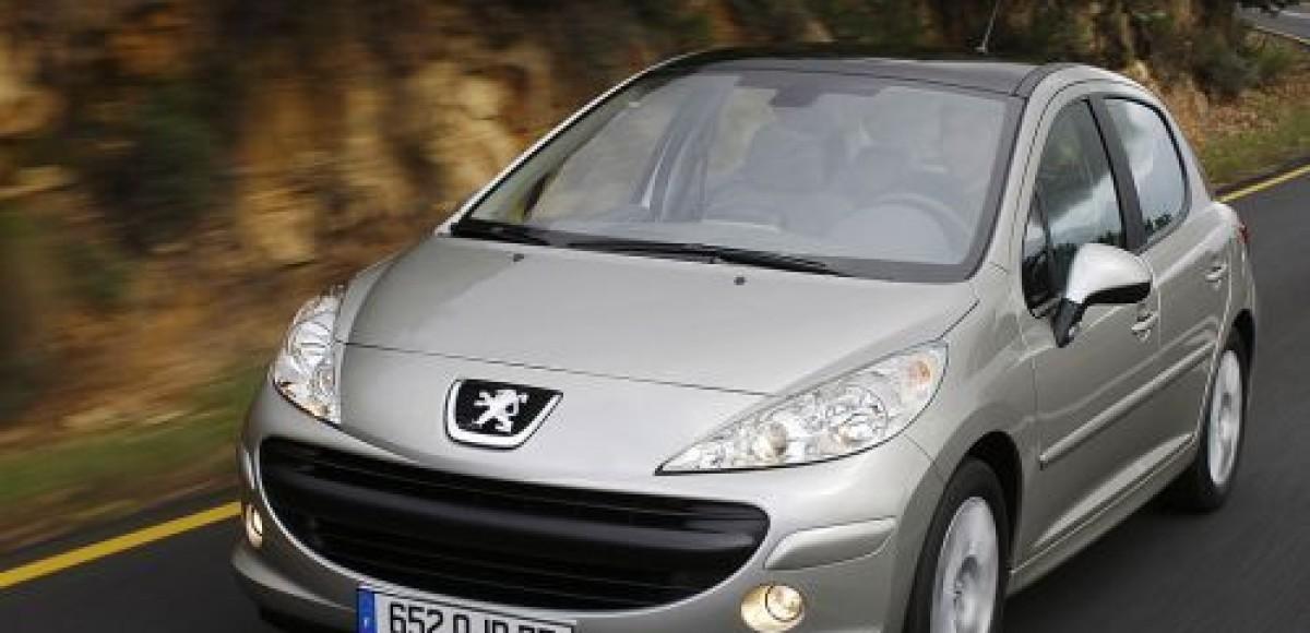 Владельцы Peugeot 207 реже всех посещают автосервисы
