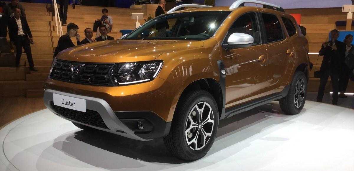 Новый «Дастер»: румынская Dacia говорит по-русски!