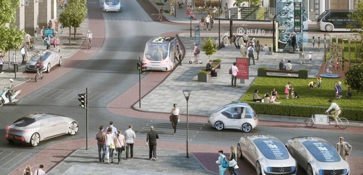 Bosch и Daimler выбирают платформу Nvidia для систем беспилотного вождения