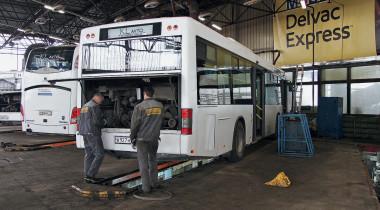 Сервис без выходных: СТО Mobil Delvac Express
