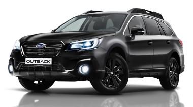 Subaru Outback Black Line: ставка на черное