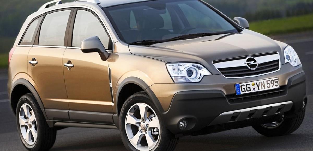 Opel Antara, обзор модели