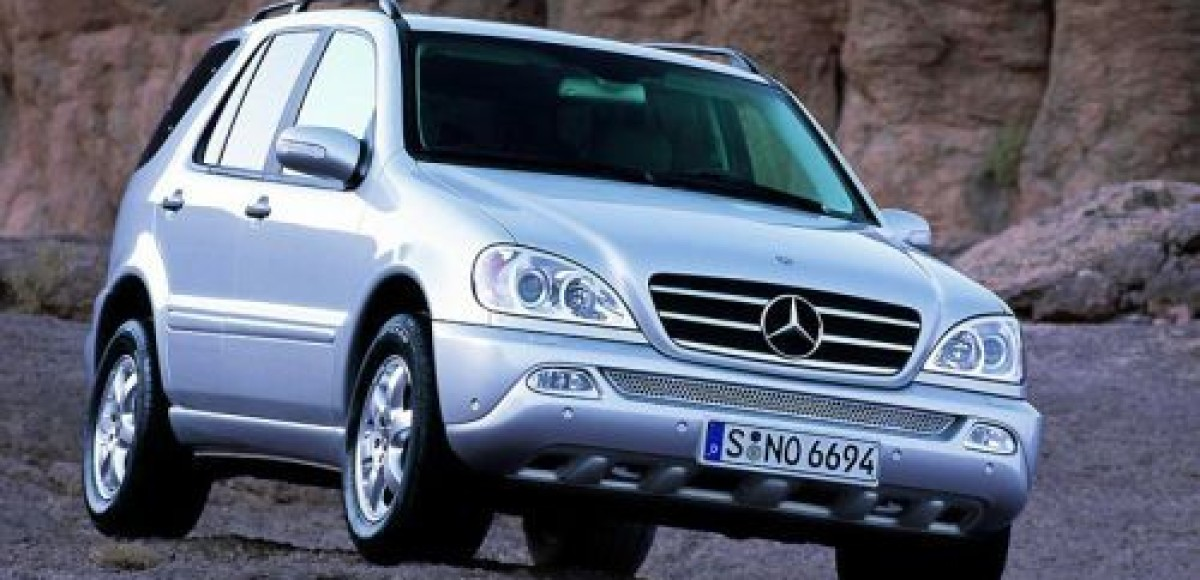 Mercedes-Benz ML 400. Мужской характер