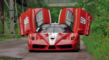 Ferrari FXX к юбилею «5 колеса». Почти виртуальная реальность
