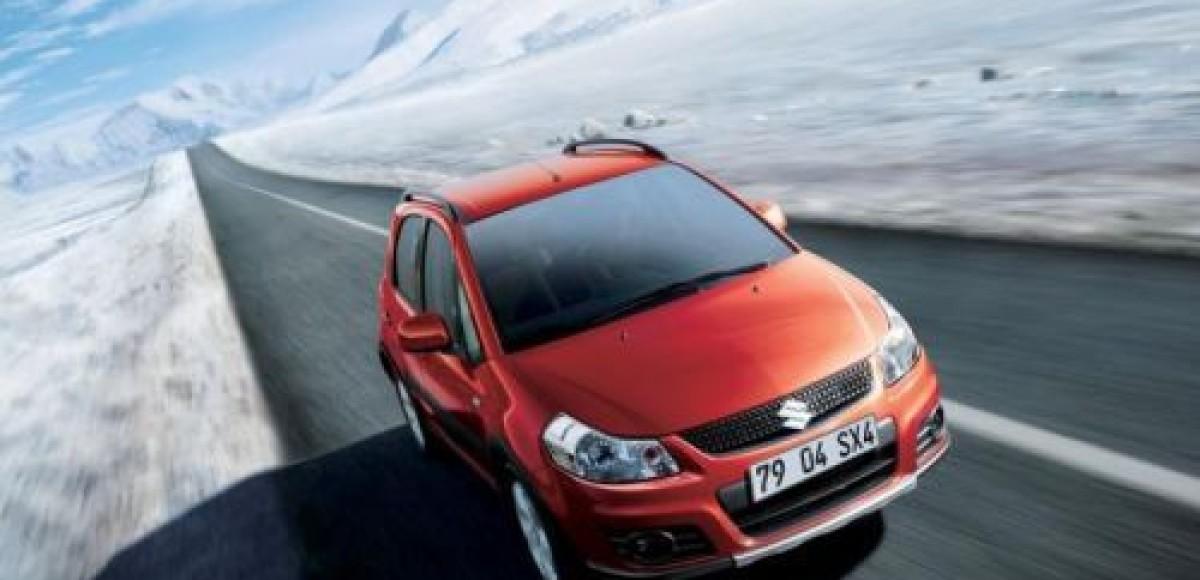Suzuki предлагает дополнительные скидки на SX4