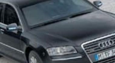 Бронированные автомобили Audi Security в автоцентре «Ауди Центр Витебский»