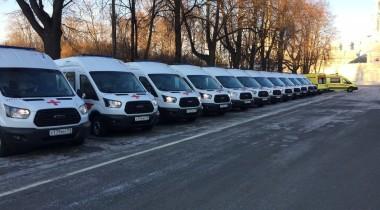 На 30% взросли продажи автомобилей скорой помощи на базе Ford Transit