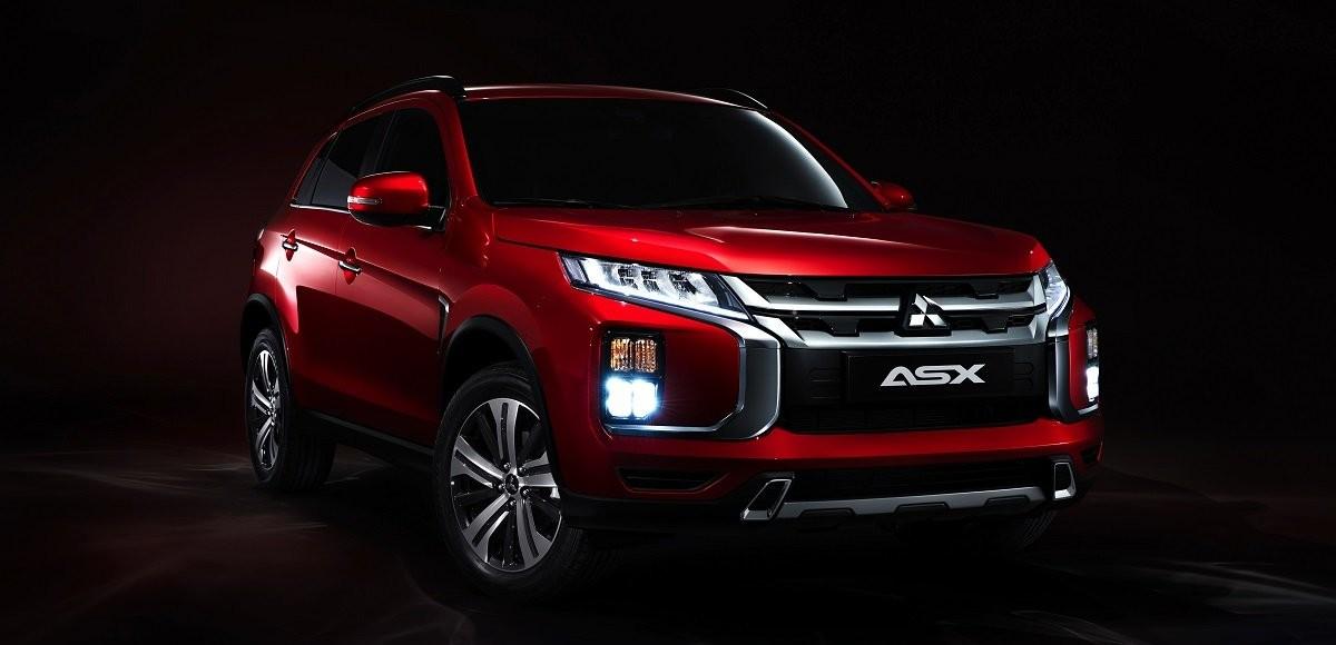 Обновленный кроссовер Mitsubishi ASX покажут в Женеве