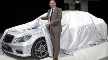 Немцы приподняли покрывало над Mercedes-Benz E63 AMG