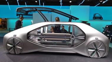 Renault EZ-GO: решение для «умного города»