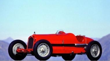 Alfa Romeo 8C 2300 Monza. Красная жара