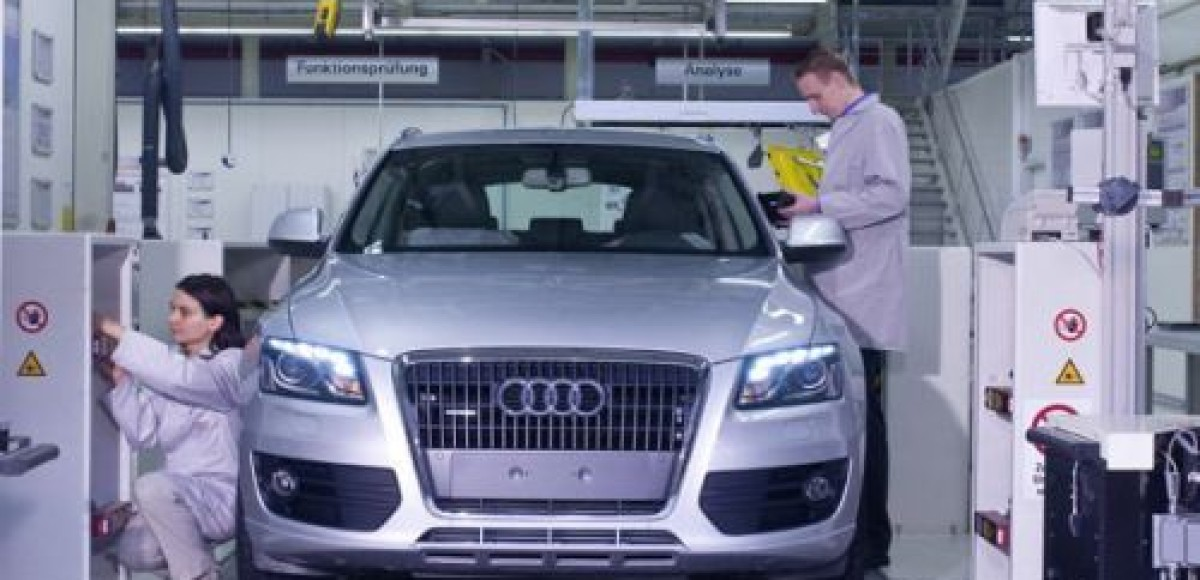 Audi запускает конкурс новых идей «Audi Production Award 2010»