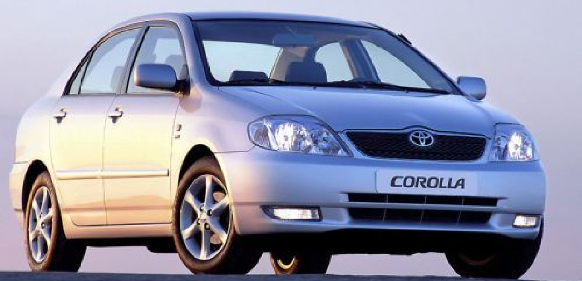 Toyota Corolla является самой популярной иномаркой в России
