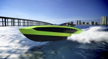 Яхта Lamborghini поразила мощью и красотой