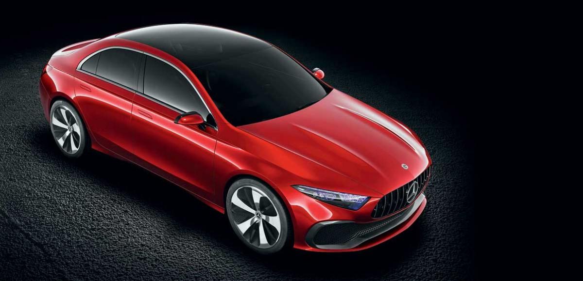 Mercedes-Benz A Sedan Concept. Раздвигая границы