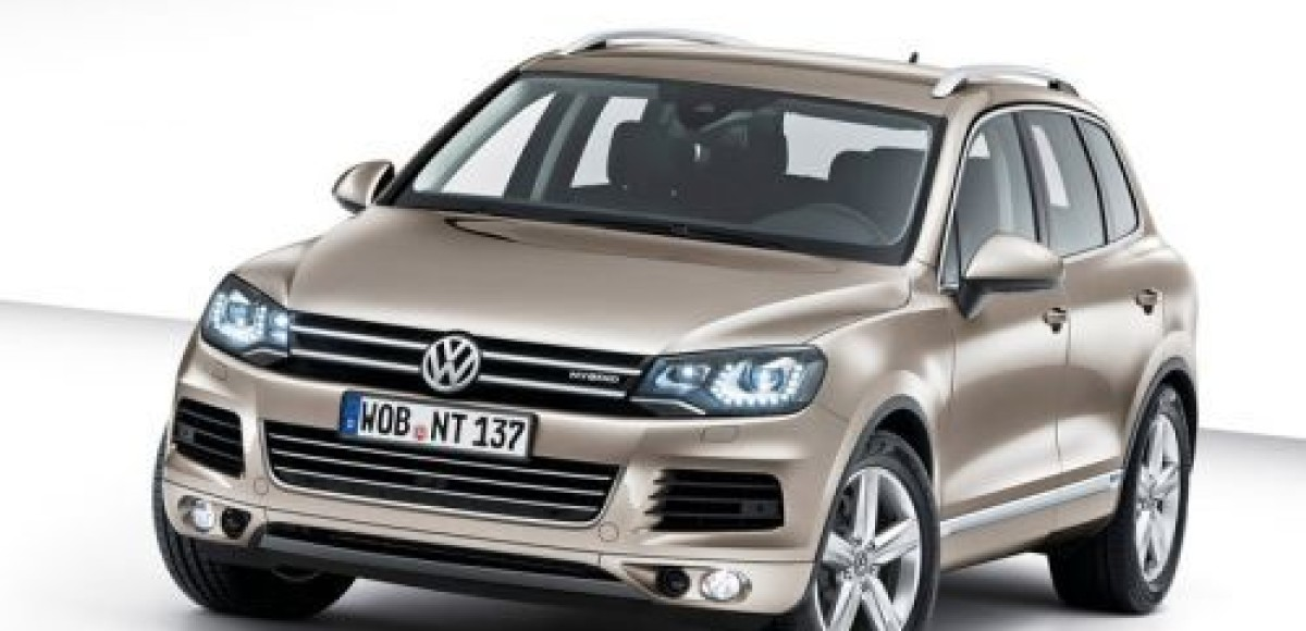 Volkswagen обновил Touareg