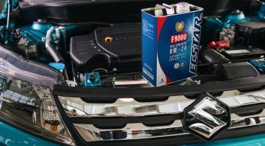 Suzuki предлагает заменить масло до холодов
